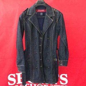 DoUJouJou premium denim jean short coat jacket SzM